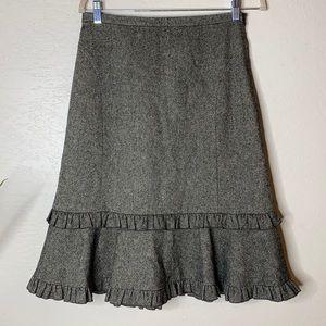 Ann Taylor Loft Work Skirt tweed